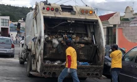 Modifican horario de recolección de basura en Pachuca