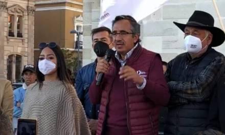 Pablo Vargas asegura que defenderá el voto de los pachuqueños