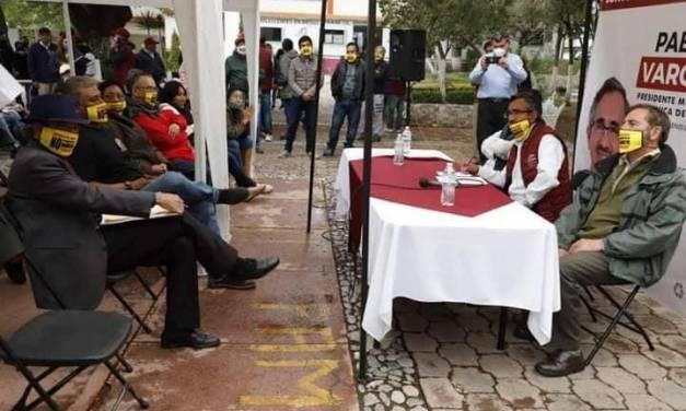Pablo Vargas se pronuncia sobre tema de parquímetros en la capital