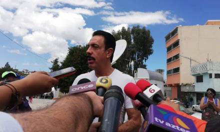 Confirma Fayad que se detectaron camiones con gente armada con machetes que se dirigían al estado