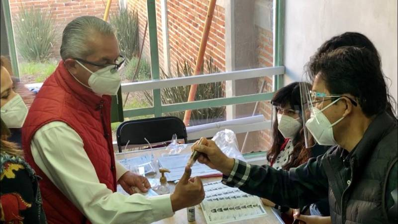 Reconoce Sergio Baños la participación de la ciudadanía en las elecciones