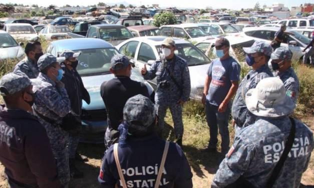 Capacitan a policías para la identificación de vehículos robados