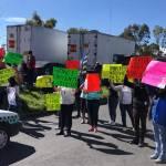 Piden liberación del transportista Rufino Licona