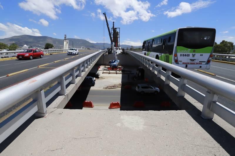 Sopot reporta avance del 60 % en puente atirantado
