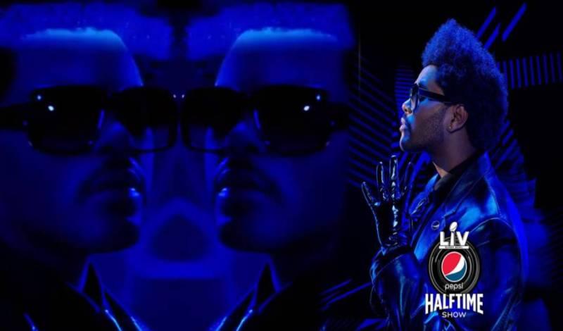 The Weeknd será en encargado del espectáculo de medio tiempo del Super Bowl