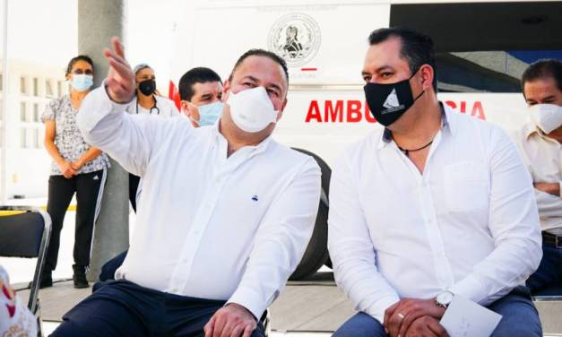 Congreso local dona ambulancias al sector salud