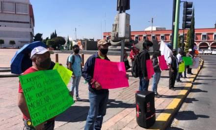 Protesta Antorcha campesina por recorte presupuestal