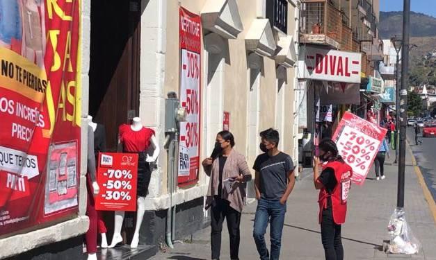 Espera comité Pro Centro de Pachuca que se liberen más créditos para comerciantes