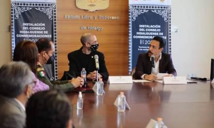 Instala Omar Fayad Concejo Estatal de Conmemoraciones 2021