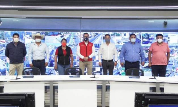 SSPH mantiene reuniones con alcaldes electos para establecer acuerdos en materia de seguridad