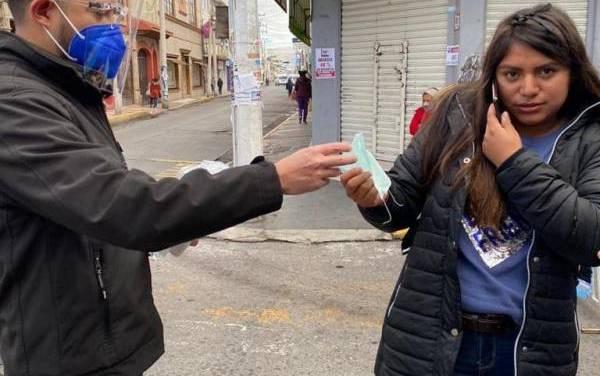 Tulancingo ya cuenta con boletas para sancionar a quien no porte cubrebocas