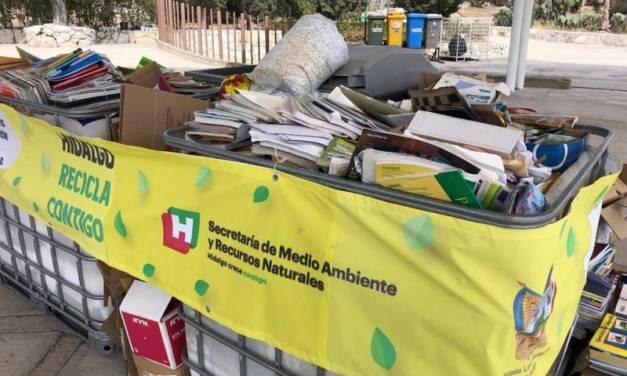 A través del programa Hidalgo Recicla Contigo se lograron acopiar 57 toneladas de residuos electrónicos