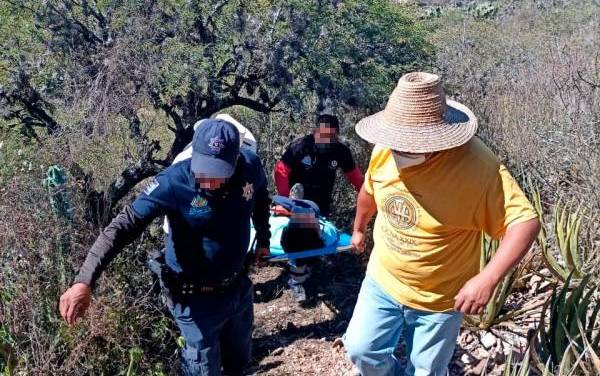 SSPH localiza, con apoyo en drones, a individuo reportado como desaparecido