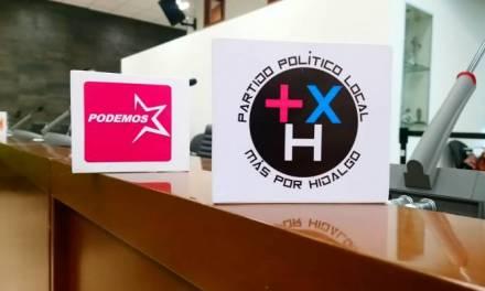 Registro de Más por Hidalgo, en la cuerda floja