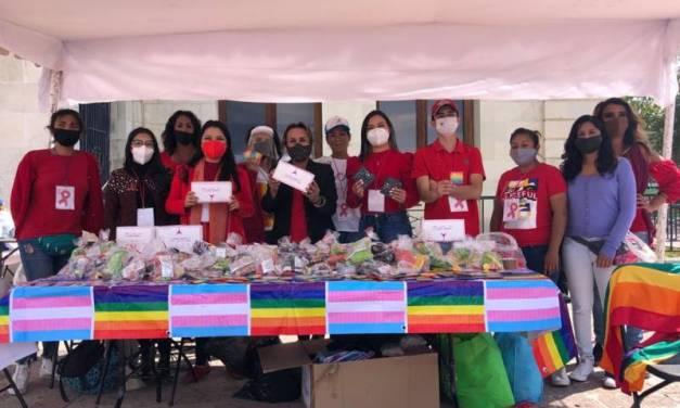 Realizan campaña informativa de salud sexual en el día de la lucha contra el VIH
