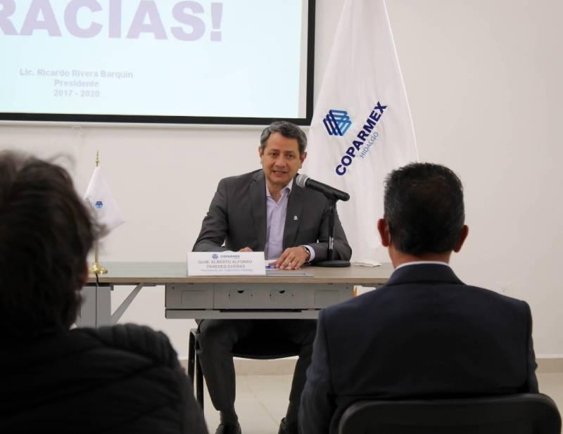 Candidatos participantes en foro de Coparmex mostraron preparacion y compromiso, señala líder