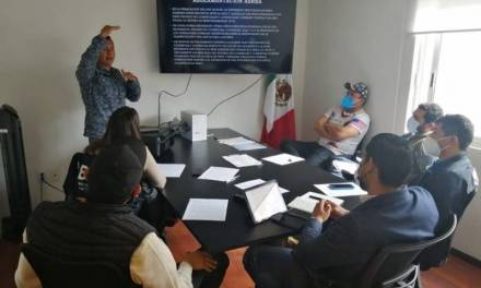 Capacitan sobre uso y manejo de drones a integrantes de la Comisión de Búsqueda de Personas de Hidalgo