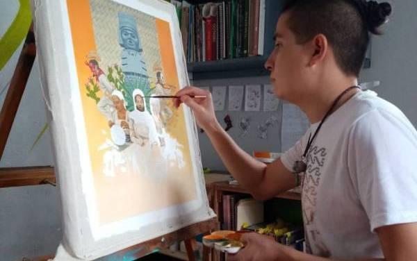 Alejandro Patricio ilustra portada de libro de la SEP