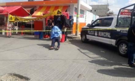 Fallece hombre de la tercera edad en Tianguis de San Cayetano