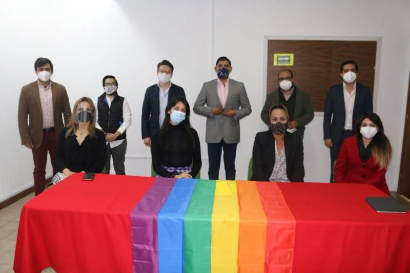 Gobiernos municipal y estatal trabajan en coordinación con población LGBTTTIQ