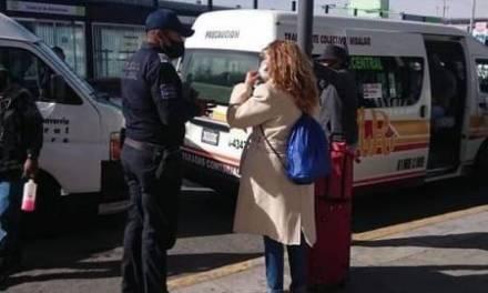 "Policía municipal ""Operativo Transporte Seguro"""