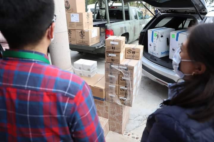 Cada semana llegará un embarque de vacunas a Hidalgo