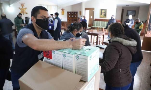 Llega segundo lote de vacunas a Hidalgo
