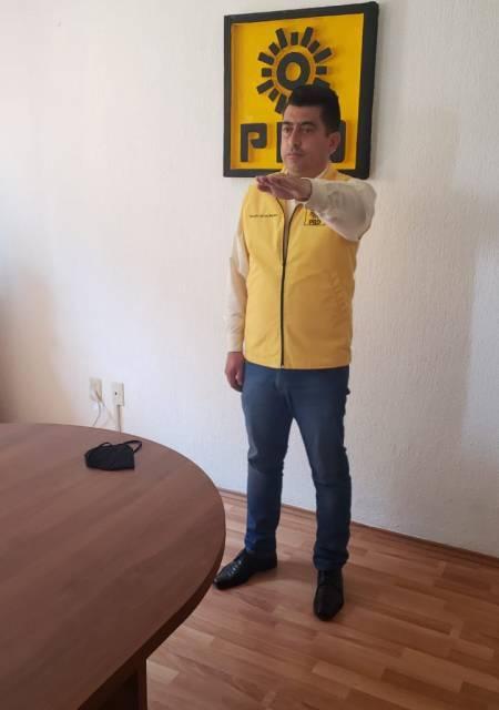 Ricardo Gómez, nuevo dirigente estatal del PRD