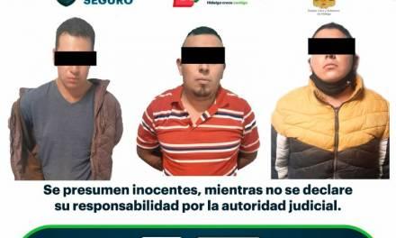 Asegura SSPH a tres hombres en Cuautepec