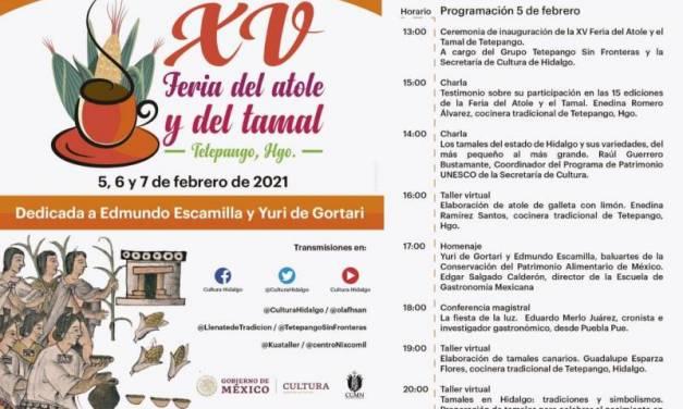 Feria del Atole y el Tamal será virtual