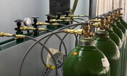 Relleno de tanques de oxígeno, exclusivo para MR