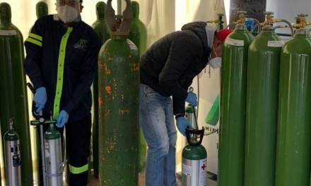 Inicia llenado de tanques de oxígeno en Mineral de la Reforma