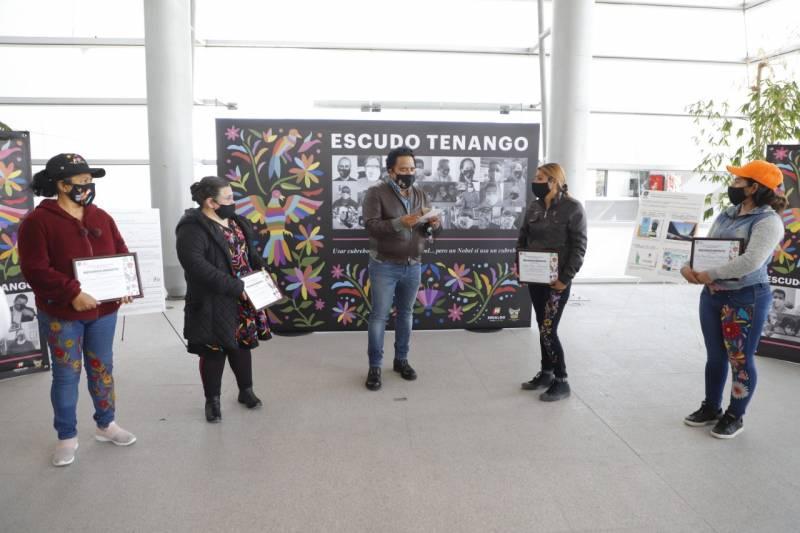 Reconoce Gobierno de Hidalgo a artesanas que participaron en la estrategia Escudo Tenango