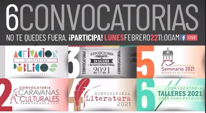 Lanzan 6 convocatorias para la participación de artistas locales
