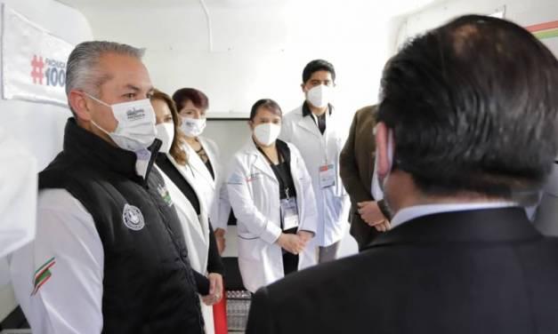 Aplicarán gratis en Pachuca 10 mil pruebas rápidas de Covid