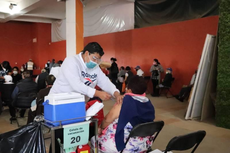 Iniciará mañana vacunación de personas de 50 a 59 años en seis municipios