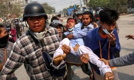 Matan a 114 personas en golpe de estado de Birmania