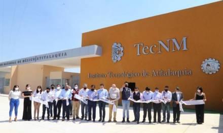 Gobierno de Hidalgo destina 12 mdp en beneficio de 807 estudiantes  y 55 docentes del TecNM campus Atitalaquia