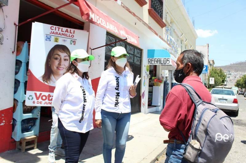 Se creará una agenda legislativa para la gente:  Citlalli Jaramillo