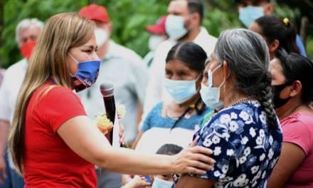 Campo, empleo, salud y mujeres, ejes en la campaña de Sayonara