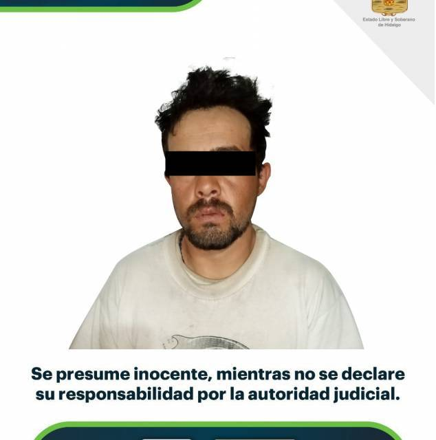 Detienen a sujeto presuntamente relacionado con el robo a un domicilio de Apan