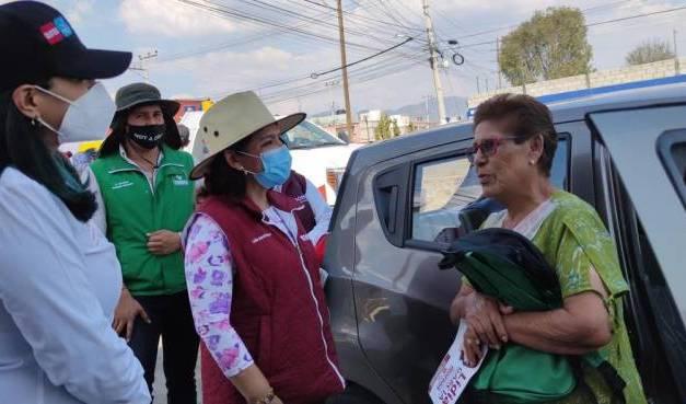 """Elvia Sierra y Lidia García solicitan voto """"Dos de Dos"""" para consolidar el Proyecto de Nación"""