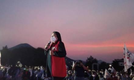 Anel Torres inicia campaña por la presidencia de Ixmiquilpan