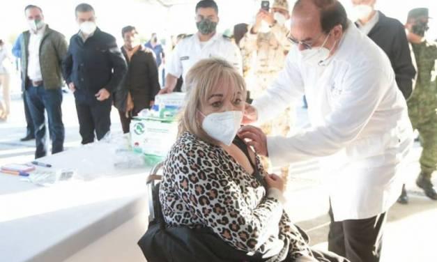 Secretaría de Salud y Sedena evalúan instalación de módulo de vacunación permanente