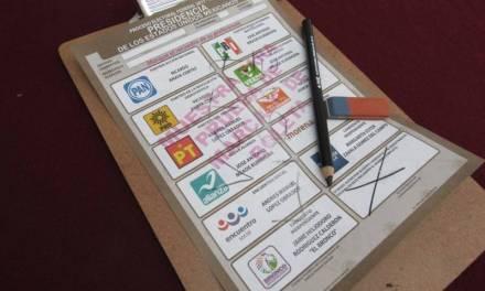 Votos con plumones no serán aceptados el 6 de junio
