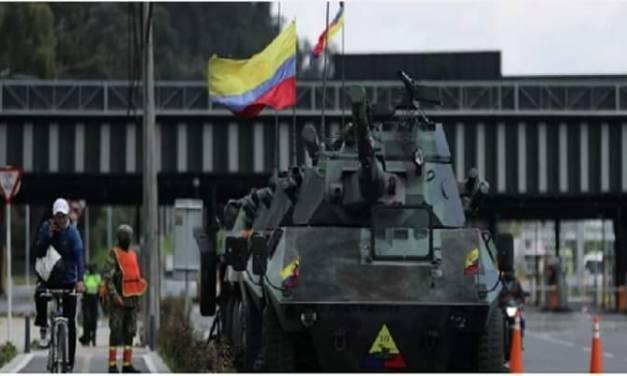 Van 42 muertos y 168 desaparecidos por protestas en Colombia