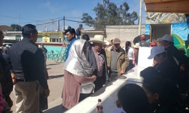 A consulta, delegación municipal en comunidad de Orizatlán