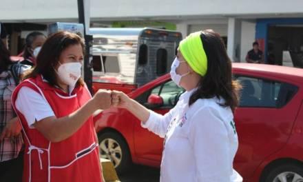 Citlalli Jaramillo buscará recursos para abasto de medicamentos