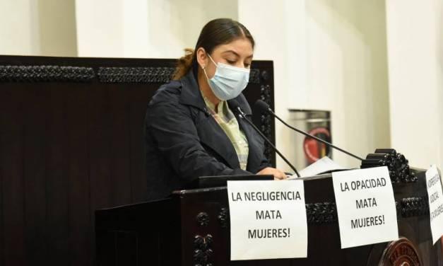 Piden informe sobre los casos de violencia contra mujeres en Hidalgo