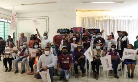 Morena pide respaldo a su proyecto en Ixmiquilpan